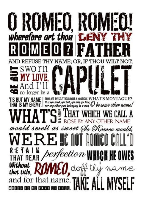 romeo and juliet modern themes romeo and juliet poster shakespeare quote literature by