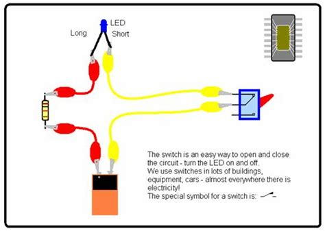 how to make a circuit with a switch science for school home