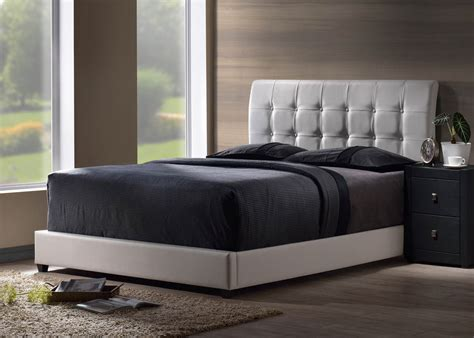 White Faux Leather Headboard by Lusso Headboard White Faux Leather 1283 370 Decor