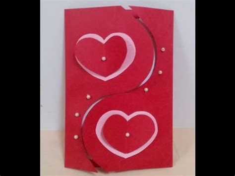 how to make valentines day cards how to make handmade s card diy tutorial