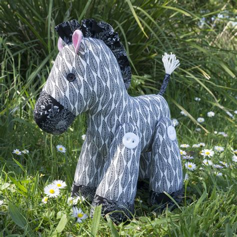 pqe pattern quantify exception zakky the zebra softie toy sewing pattern download