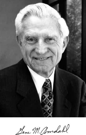 GENE M. AMDAHL | Memorial Tributes: Volume 22 | The