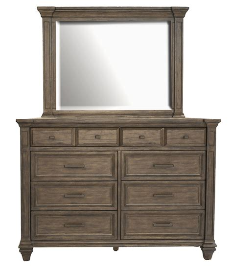 Dressers And Mirrors by A America Gallatin Dresser And Optional Mirror With