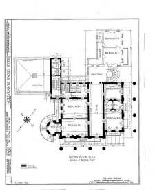 second floor plan southern antebellum homes and