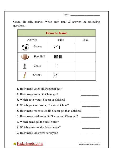 printable graphs for 1st grade 1st grade graphing worksheets free worksheets library
