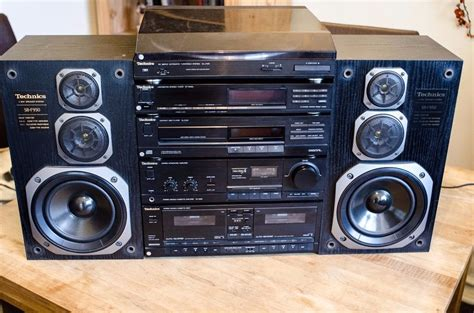 mini hi fi systems with cassette deck vintage technics hi fi stereo system separates turntable