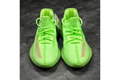 yeezy boost 350 v2 quot glow in the quot look hypebeast
