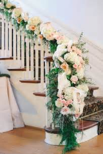 Garland For Banister 27 Greenery And Floral Garland Wedding Decoration Ideas
