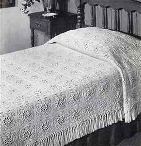 puritan bedspread pattern crochet patterns