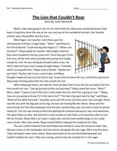 3rd grade reading comprehension worksheets free abitlikethis