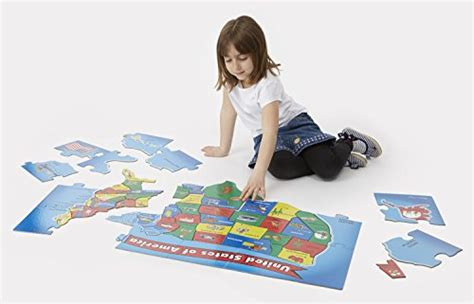 doug us map puzzles usa 51 pcs states floor