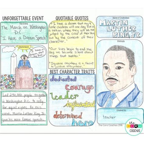 rosa parks book report students create a trifold brochure about a civil rights