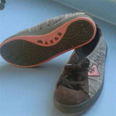 63 shoes brown and pink plaid shoes from