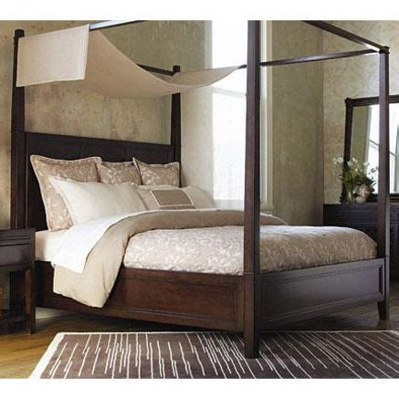 thomasville wanderlust canopy bed ensemble