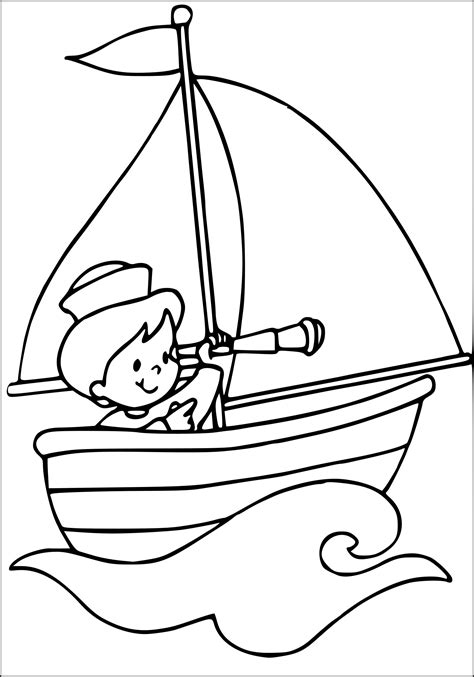 dessin sur bateau coloriage marin bateau 224 imprimer sur coloriages info