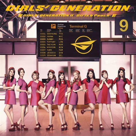 Cd Generation Paparazzi album generation snsd generation ii peace japanese