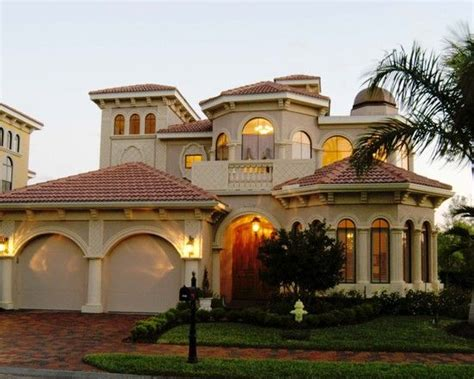 mediterranean house design gorgeous luxury home exterior for custom home