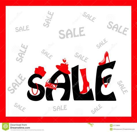 typography sles sale card design stock illustration illustration of backdrop 21778890