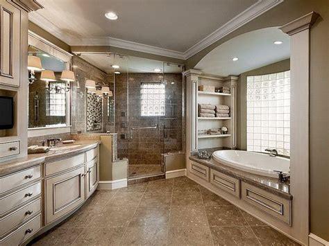 Traditional Master Bathroom Ideas by Traditional Master Bath In Neutral Tones Masterbathrooms