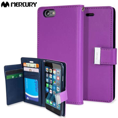 Iphone 6 Mercury Corporation Slim Card Pocket Original Mercury Rich Diary Iphone 6s 6 Premium Wallet