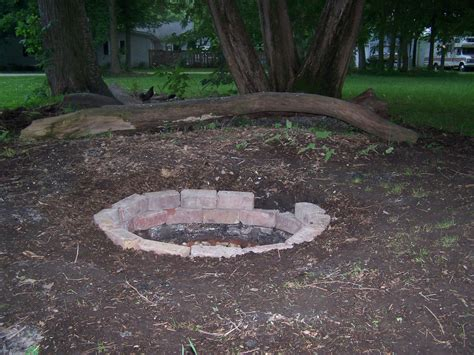 and easy pit backyard patio design cheap and simple propane pit