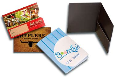 Custom Printed Gift Cards - custom printed plastic gift card holders