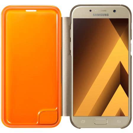 delkin flip cover samsung a5 gold official samsung galaxy a5 2017 neon flip wallet cover gold