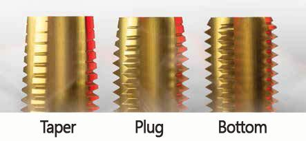 standard tap set hand tap set kodiak cutting tools