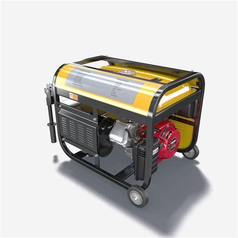 portable electric generator portable electric generator 3d model