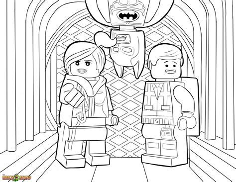 free coloring pages of lego marvel