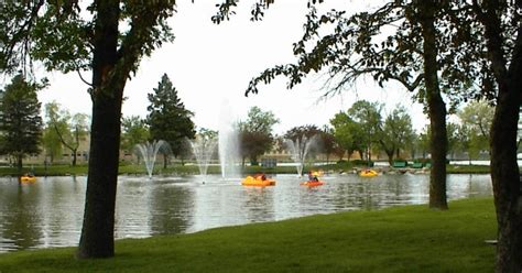 paddle boat rentals beloit wi beloit wi view of lagoon and fountains with