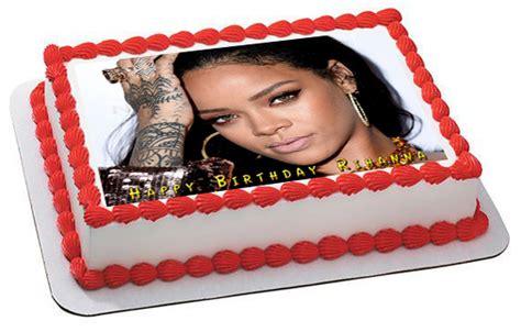 rihanna cake rihanna edible birthday cake topper