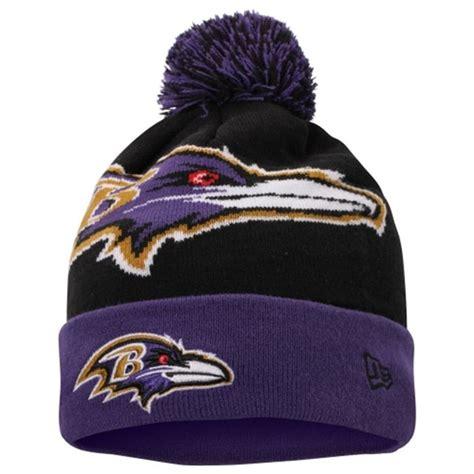 ravens knit hat baltimore ravens new era woven biggie 2 knit hat b more