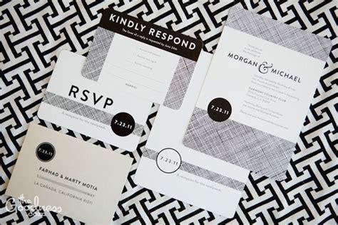 black and white wedding invitation designs modern black white wedding invitations invitation crush