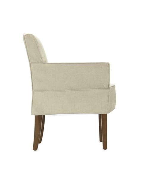 Slipcovered Armchairs fitzgerald slipcovered armchair linen williams sonoma