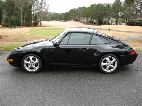 1995 Porsche 993 Carrera Coupe 6 Speed Black Black Grey