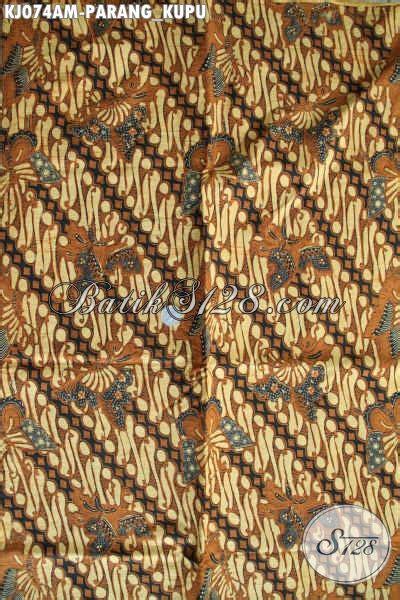 kain jarik motif parang kupu batik halus dari proses