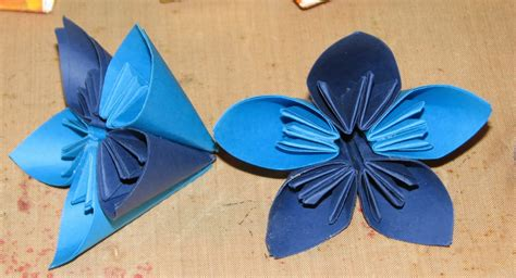 Origami Kusudama Flower Step By Step - ink stains origami kusudama flower step by step photo