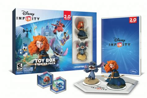 Infinity Box 2 0 Disney Infinity 2 0 Box Starter Pack Preview Featuring