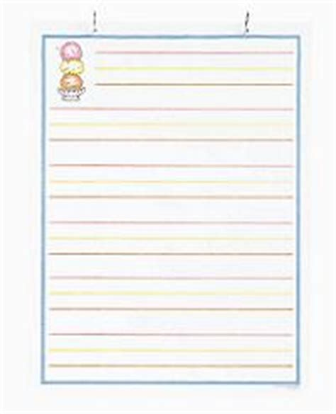 printable ice cream writing paper kindergarten component list the superkids reading program