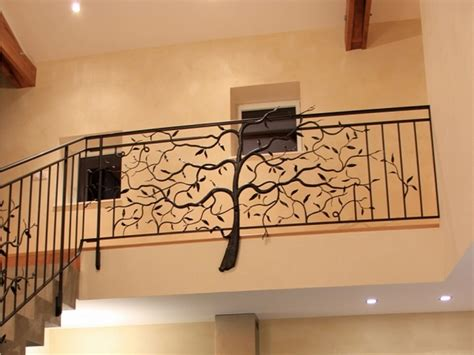 decorative banisters unique wrought iron banister ideas inspired by nature