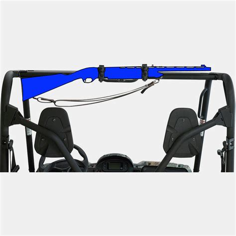 Four Wheeler Gun Rack by Moose Utv Gun Rack Four 4 Wheeler Rifle Shotgun Mounts