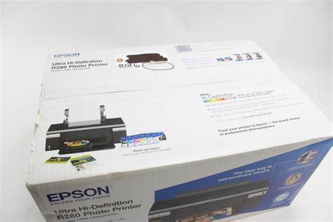 Printer Epson R280 epson stylus photo r280 color inkjet photo printer property room