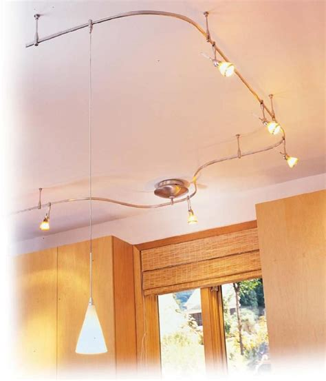 use flexible track lighting when versatility is needed track lighting kitchen photos