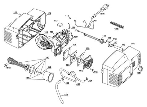 porter cable c2005 type 4 parts air compressor parts