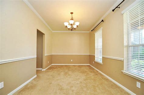 two tone dining room paint view of formal dining room from the doorway chair rail with two tone paint scheme diy