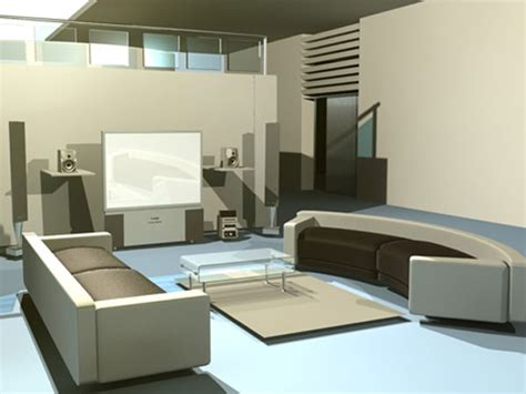 3ds Max Models Free Interior by Interior Design High Tech Residence Max 3ds Max Software Architecture Objects
