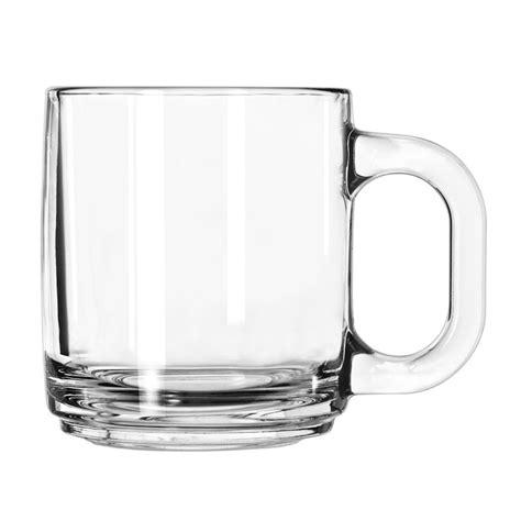 clear coffee mug libbey 5201 10 oz clear glass coffee mug