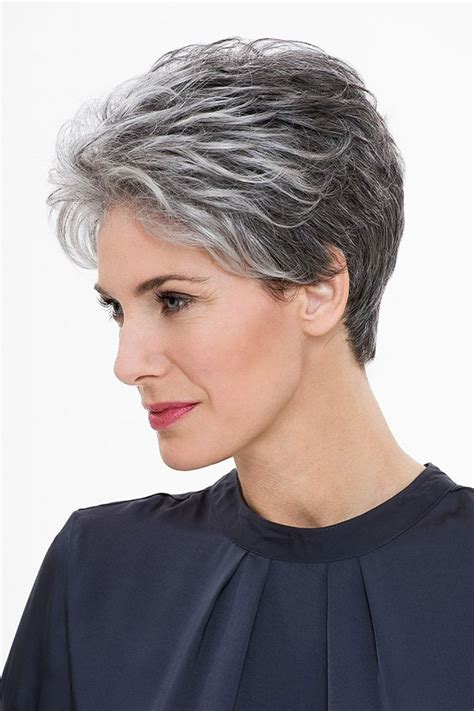 pixie grey hair styles short grey pixie hairstyles fade haircut