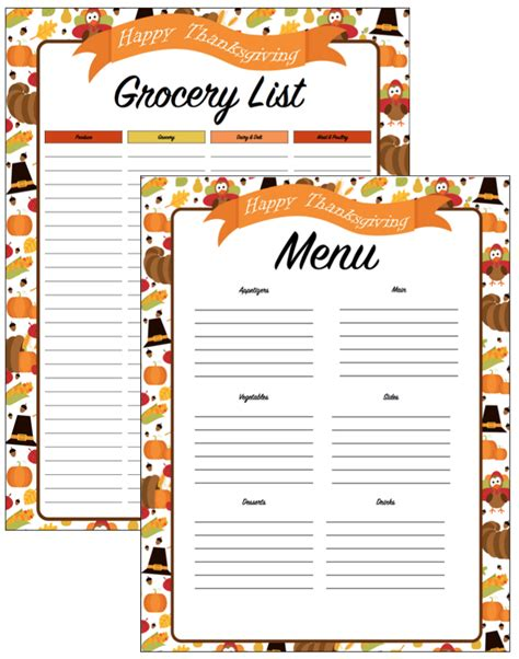 printable thanksgiving planner thanksgiving planner get a head start on thanksgiving